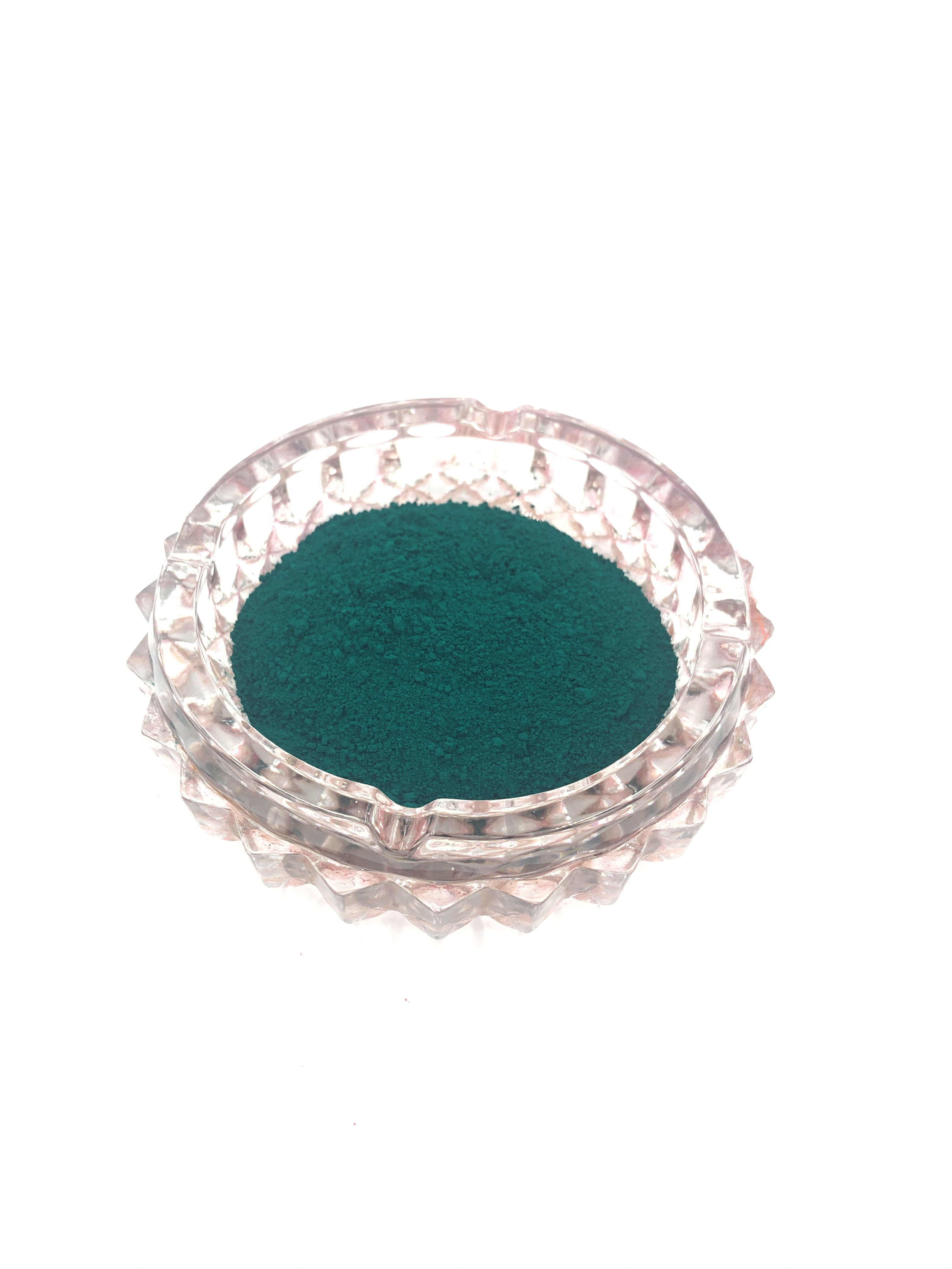 Green Pigment 647 Strong Coloring Strength with Great Temperature Resistance For Industrial Coating