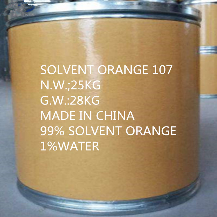 Solvent Orange 107 Polyester Fiber Staining High Coloring Strength with Bright Colors